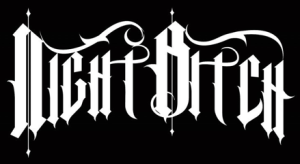 Nightbitch - band logo - B&W - NB