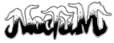 Noctum - large logo - B&W