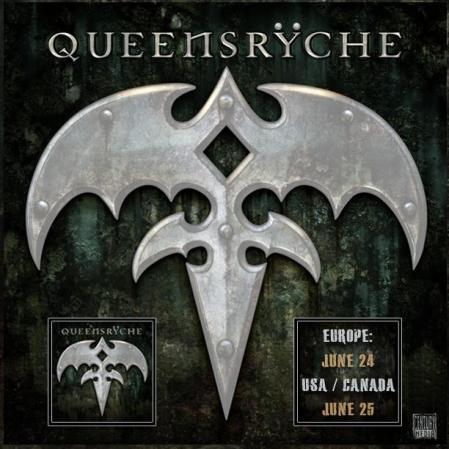 Queensryche - Self-Titled Album - promo flyer - 2013