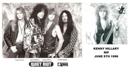 Quiet Riot - band promo pic - 1993 - kenny hillary