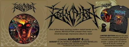 Revocation - New Album - Trifold - Promo Pic - 2013
