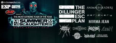 Summer Slaughter Tour - 2013 - Promo Banner
