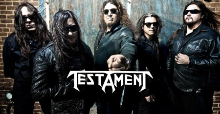 Testament - band pic - band logo - 2012