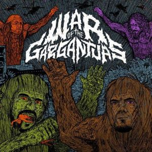 War Of The Gargantuas - promo cover pic