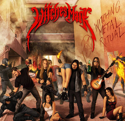 Witches Mark - Witching Metal Ritual - promo cover pic