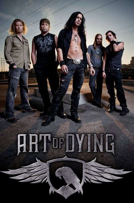 Art Of Dying - Band promo pic - Band logo - 2011