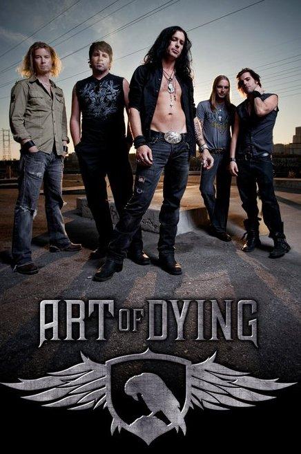 Art Of Dying - Band promo pic - Band logo - 2011