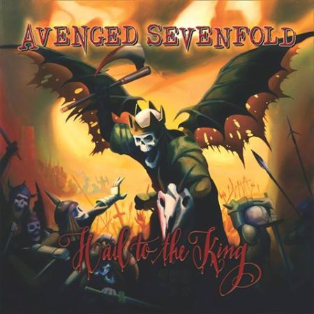 Avenged Sevenfold - Hail To The King - cover promo pic - 2013