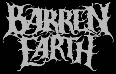 Barren Earth - large band logo - B&W