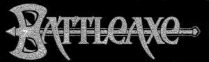 Battleaxe - large classic logo - B&W