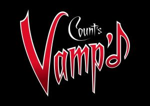 COUNT'S VAMP'D - Larg Logo - Red:White:Black
