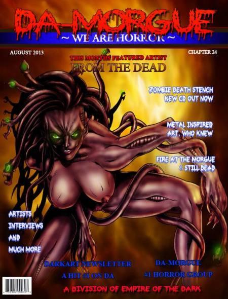 Da Morgue - magazine promo pic - August - 2013