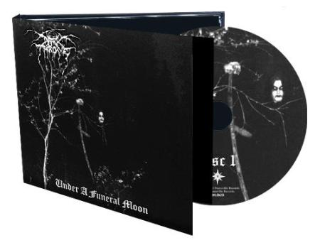 Darkthrone - Under A Funeral Moon - promo CD cover - 2013