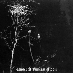 Darkthrone - Under A Funeral Moon - promo cover pic