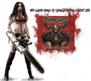 Debauchery - Kings Of Carnage - promo Admat - 2013
