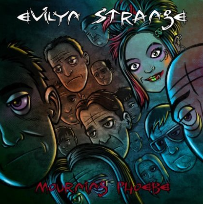 Evilyn Strange - Mourning Phoebe - promo cover pic