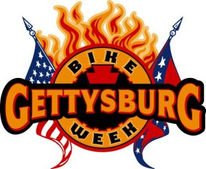 Gettysburg Bike Week - large promo logo - 2013