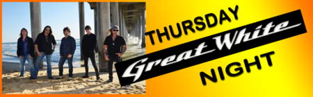 Great White - Thursday - Gettysburg Bike Week - promo pic