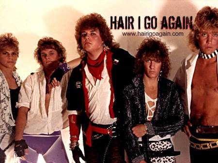HAIR I GO AGAIN - website - promo pic - 2013