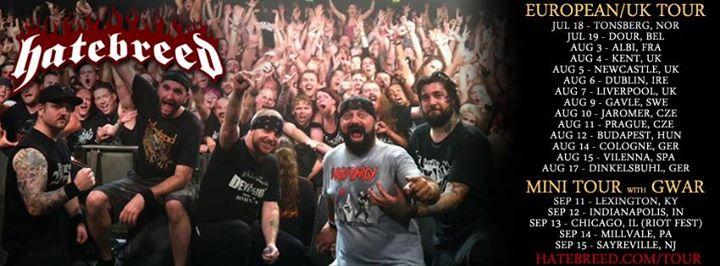 Hatebreed - Tour - 2013 - promo banner
