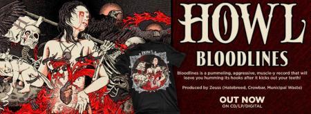 Howl - Bloodlines - album promo banner - 2013