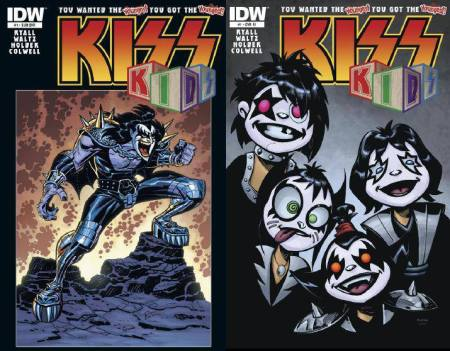 Kiss - Kids - additional covers - issue #1 - promo