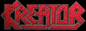 Kreator - Band Classic Logo - Red & Black