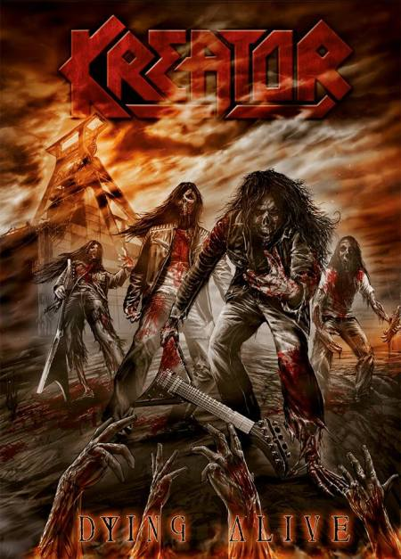 Kreator - Dying Alive - DVD - promo cover
