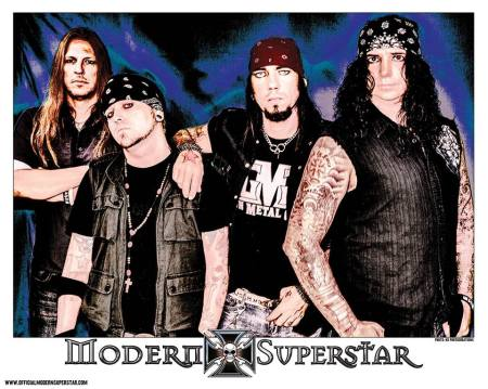 Modern Superstar - band promo pic - band logo - #12 - 2013