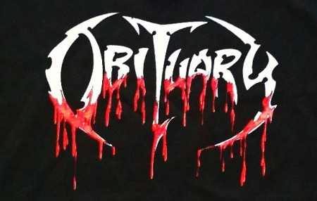 Obituary - Classic Band Logo - Bloody - #5