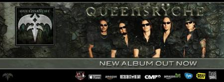 Queensryche - New Album - Todd LaTorre - band - promo banner