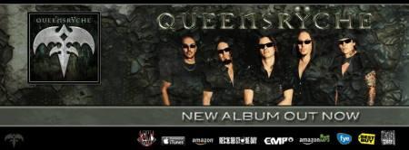 Queensryche - New Album - Todd LaTorre - band - promo banner