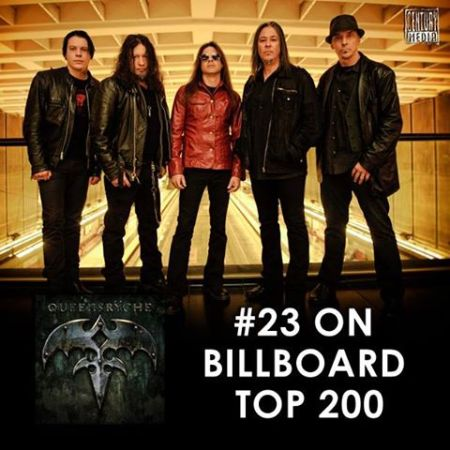 Queensryche - Todd LaTorre - Billboard - #23 - 2013