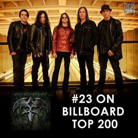 Queensryche - Todd LaTorre - Billboard - #23 - 2013