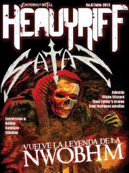 Satan - HeavyRiff - cover promo - July - 2013