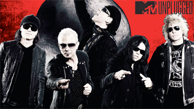 Scorpions - MTV - Unplugged - Athens - 2013 - promo band banner