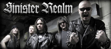 Sinister Realm - band promo pic - logo - banner - 2013 - #1