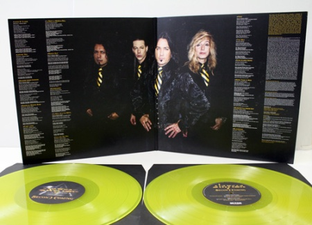 Stryper - Second Coming - yellow vinyl - gatefold - promo pic
