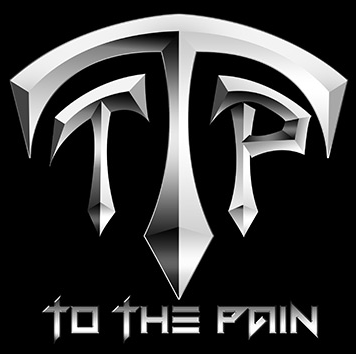 To The Pain - Large Band Logo - 2013