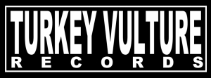 Turkey Vulture Records - Large Logo - B&W