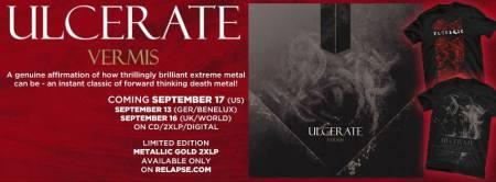Ulcerate - Vermis - album promo banner - 2013 - #20