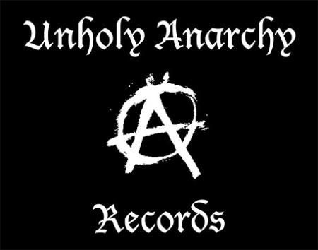Unholy Anarchy Records - large promo - logo - B&W