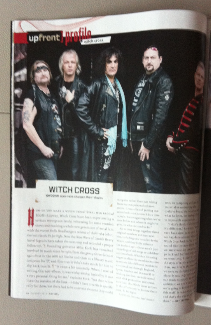 Witch Cross - Decibel - Feature Article - Aug - 2013