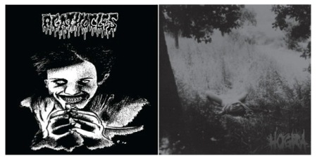 Agathocles - Hogra - split - promo cover pic