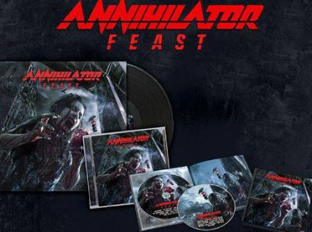 Annihilator - Feast - album - CD - promo pic