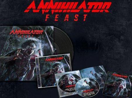 Annihilator - Feast - album - CD - promo pic