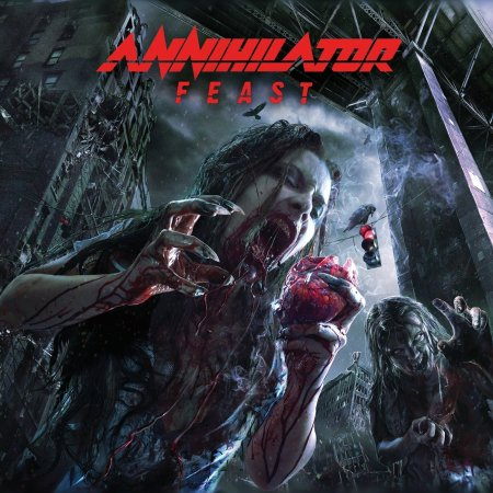 Annihilator - Feast - promo cover pic