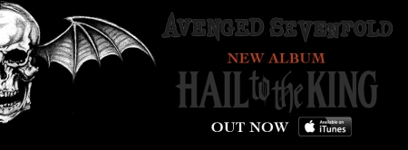 Avenged Sevenfold - Hail To The King - album promo banner - 2013
