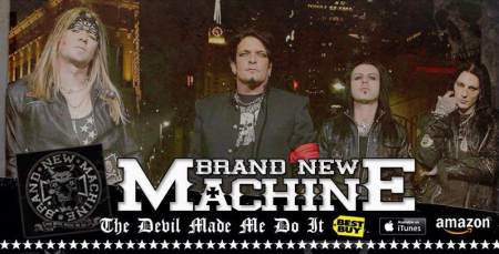 BRAND NEW MACHINE - band promo pic - #1 - 2013