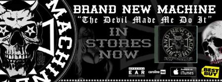 Brand New Machine - promo debut album banner - 2013